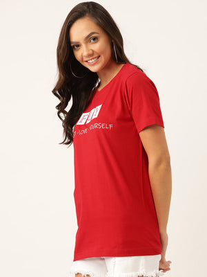 FLY - Red T-Shirt