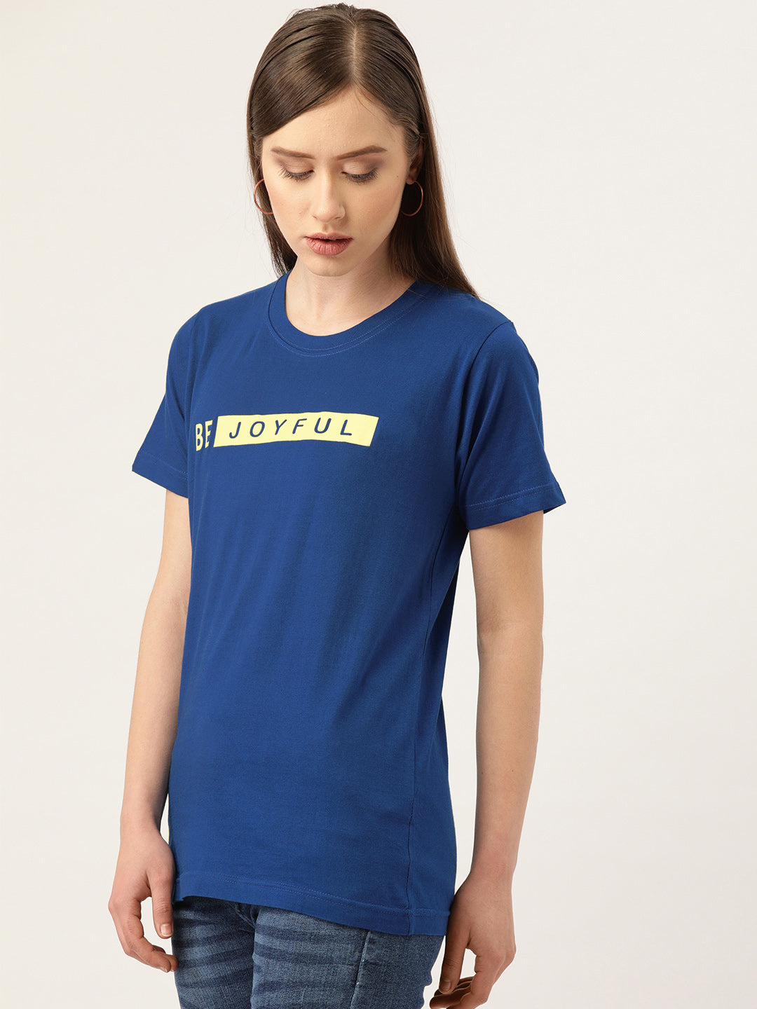 Be Joyful Blue T-Shirt