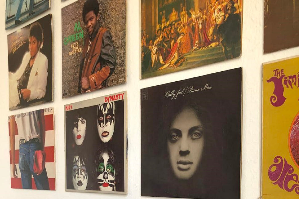 5 Ways to Decorate Your Home With Your Favorite Albums