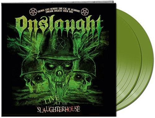 Onslaught: Live At The Slaughterhouse green Vinyl