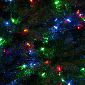 Bright Tunes Indoor/Outdoor 3 color Multi Colored Incandescent String Lights with Bluetooth Speakers Alt 2