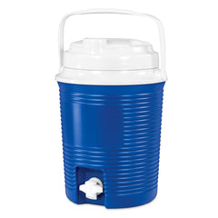 Rechargeable Bluetooth Waterproof  Speaker Cooler with Built-in Battery Charger, Blue Main