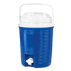 Image of Rechargeable Bluetooth Waterproof  Speaker Cooler with Built-in Battery Charger, Blue Main