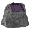 Image of Innovative Technology Pair of 10 Watt Solar Charging Bluetooth Outdoor Rock Speakers, Grey