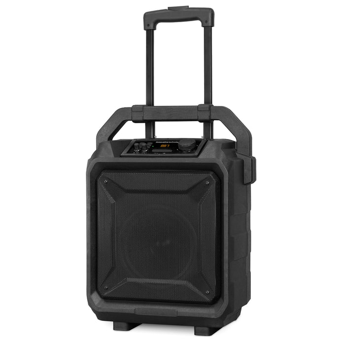 Innovative Technology Outdoor Bluetooth® Party Speaker with Trolley