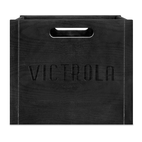 Victrola Wooden Record and Vinyl Crate