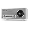 Image of Victrola Bluetooth Digital Clock Stereo with FM Radio and USB Charging