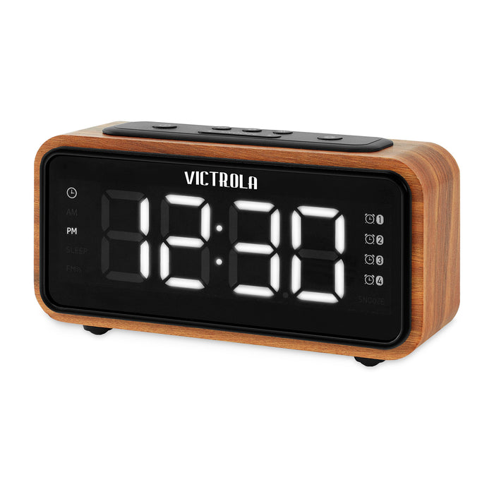 Bedside Clock with FM Radio