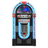 "Image of Victrola Nostalgic  Wood 51"" Full-size Bluetooth Jukebox with Record Player and 3-Speed Turntable Main"