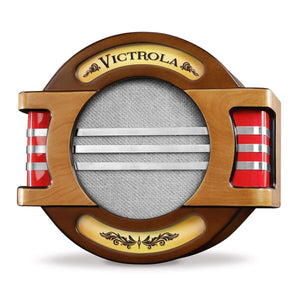 Victrola Rechargeable Nostalgic Wall Mounted Wood Bluetooth Speaker Main