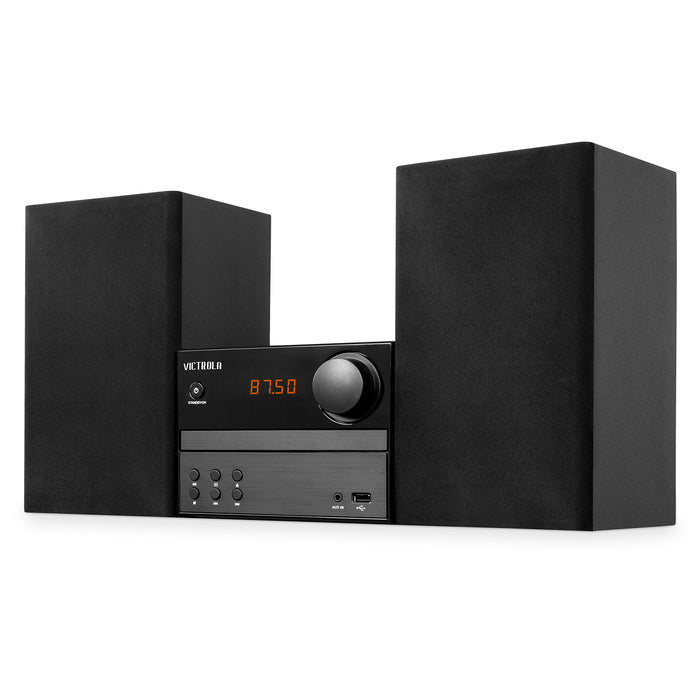 Bluetooth® CD Stereo System, Black