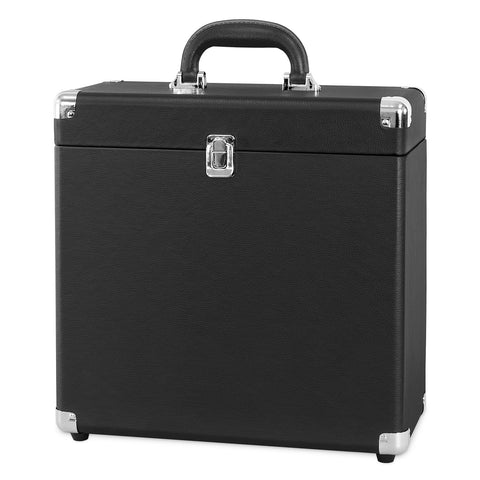 Victrola Storage case for Vinyl Turntable Records, Black Alt 1