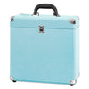Image of Victrola Storage case for Vinyl Turntable Records, Turquoise Alt 1