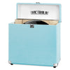 Image of Victrola Storage case for Vinyl Turntable Records, Turquoise Main