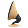 Image of Victrola Rechargeable 60 Watt Gramophone Bluetooth Speaker with Wood finish, Oak Alt 1