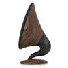Image of Victrola Rechargeable 60 Watt Gramophone Bluetooth Speaker, Walnut Alt 1