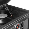 Victrola 6-in-1 Nostalgic Bluetooth® Record Player with 3-speed Turntable with CD and Cassette