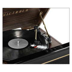 Victrola's 3-in-1 Avery Bluetooth Record Player with 3-Speed Turntable, Espresso