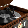 Image of Victrola Navigator 8-in-1 Classic Bluetooth Record Player with USB Encoding and 3-speed Turntable