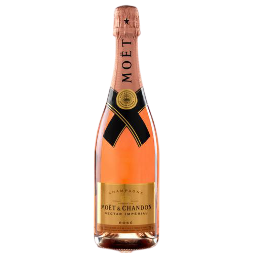 Moët and Chandon Nectar Impèrial Rose