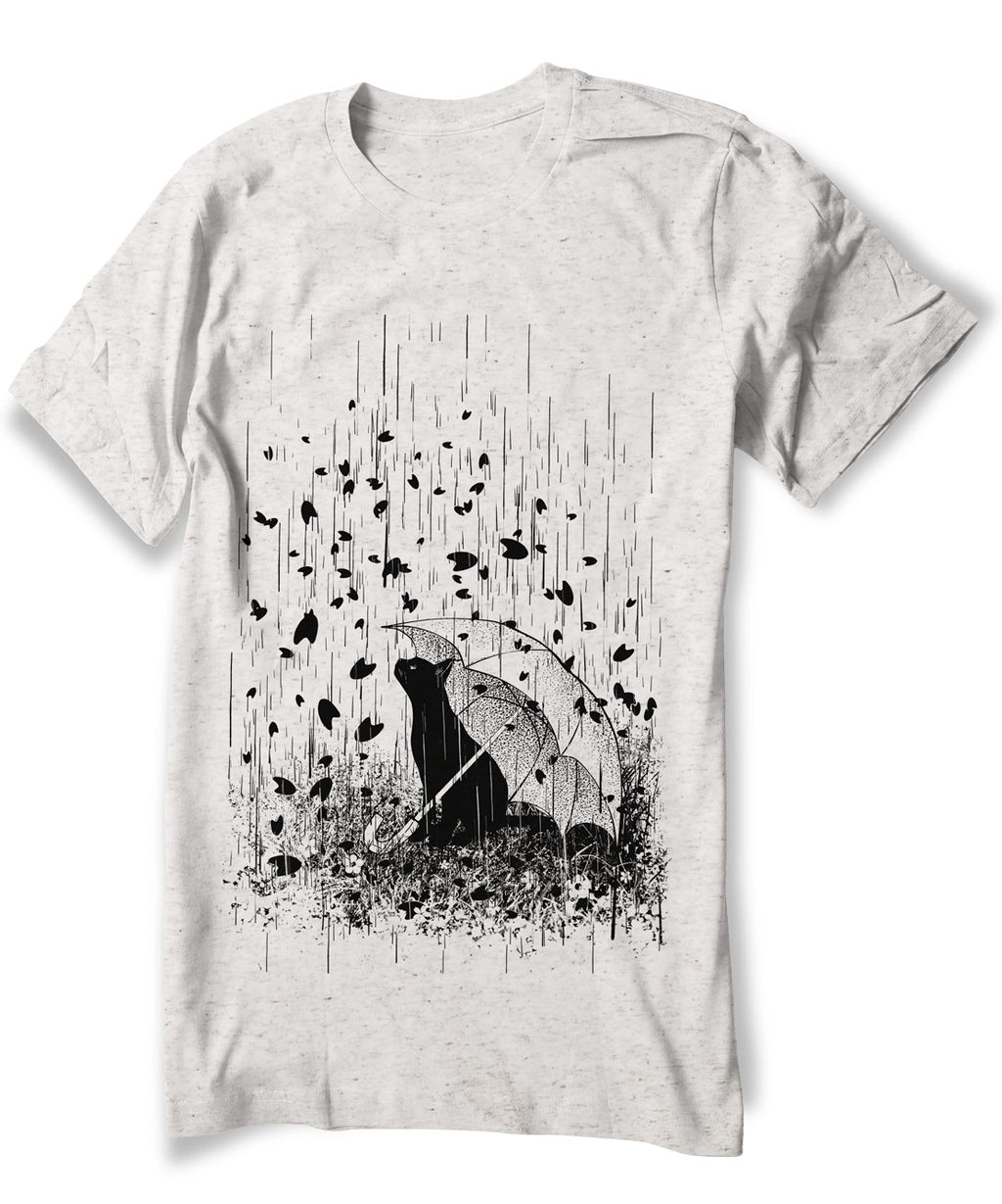 Rainy Day Cat Shirt