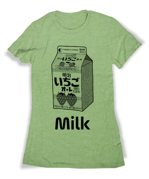 Strawberry Milk Carton Shirt