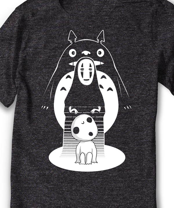 Ghibli Monsters T-Shirt