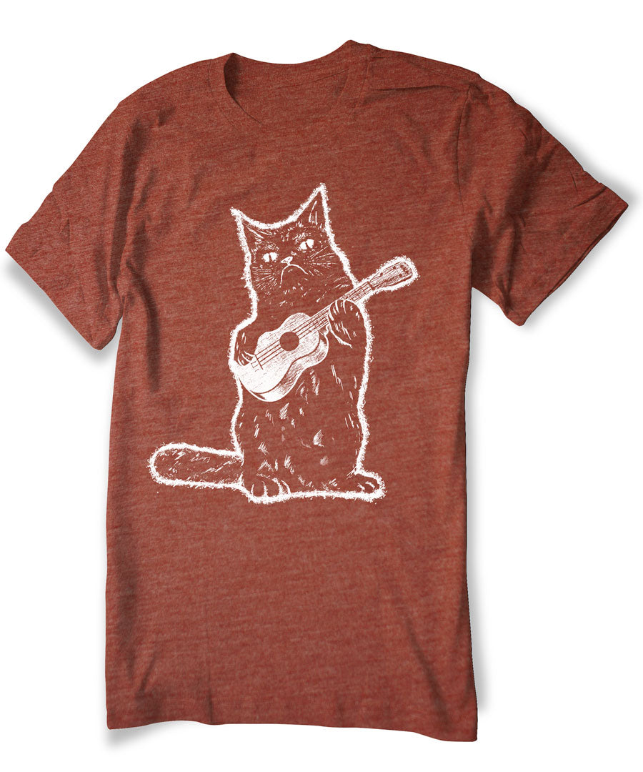 Cat Ukulele T-shirt