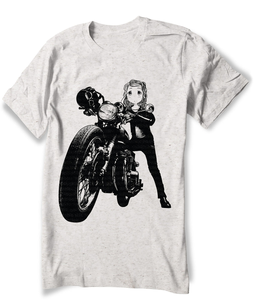 Anime Biker Girl Shirt