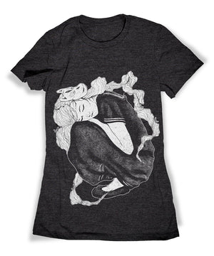 Sleeping School Girl Shirt