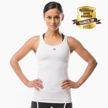 Performance Sportswear white vest top great for running yoga pilates and the gym