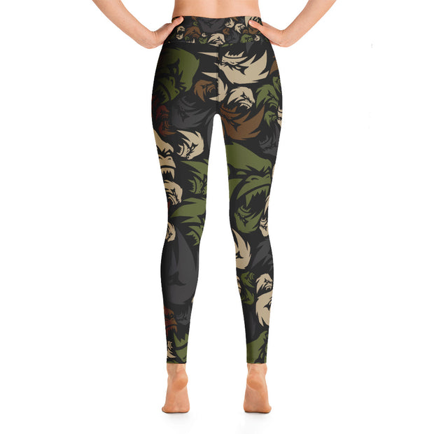 APER Military Camo Leggings