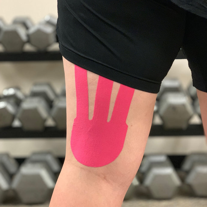 How to Tape for Hamstring Support - Blacktop Shape 1