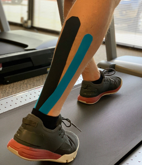 How to Tape for a Calf Strain - Blacktop Shape 4/5