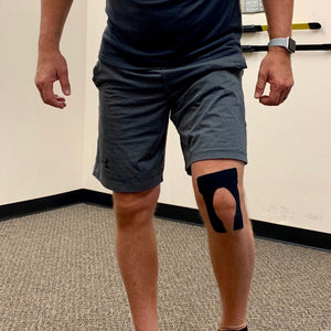 kinesiology tape knee