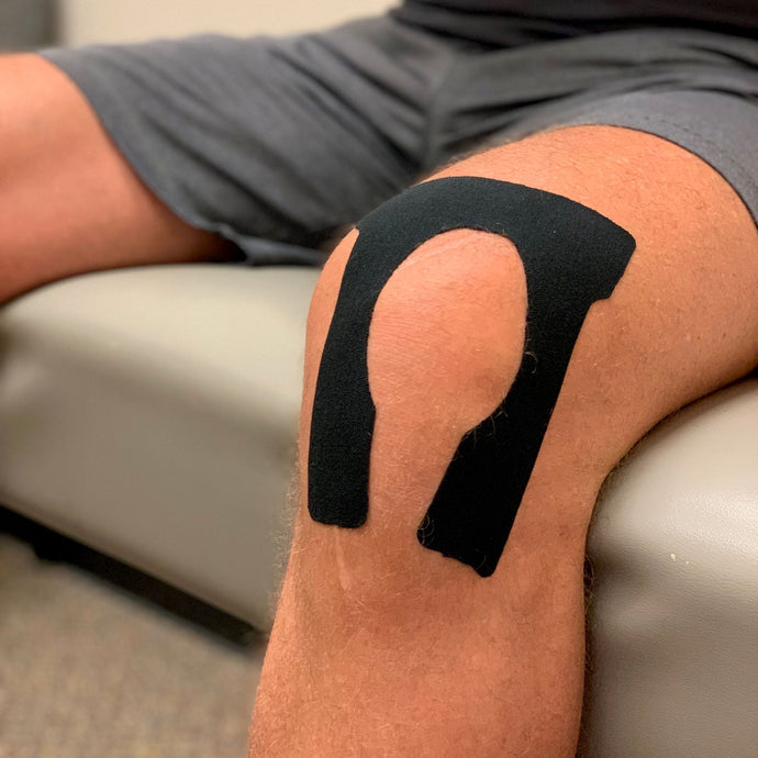kinesio taping knee