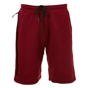 Tech Fleece Shorts Burgundy - Rich Cotton