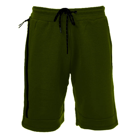 Tech Fleece Shorts Olive - Rich Cotton