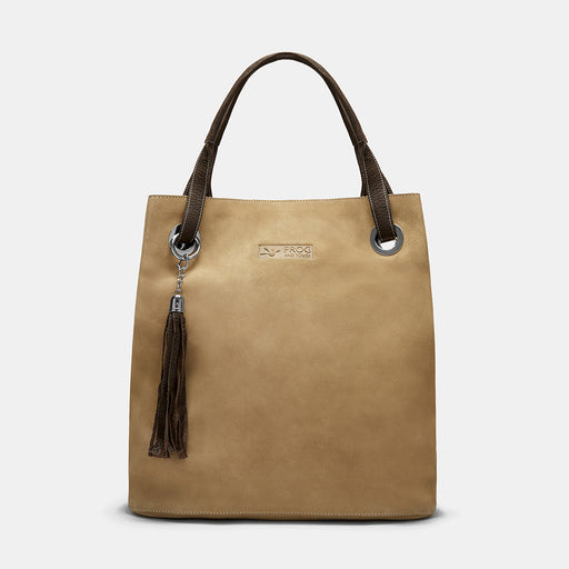 Pimlico Brown Suede Shopper Tote