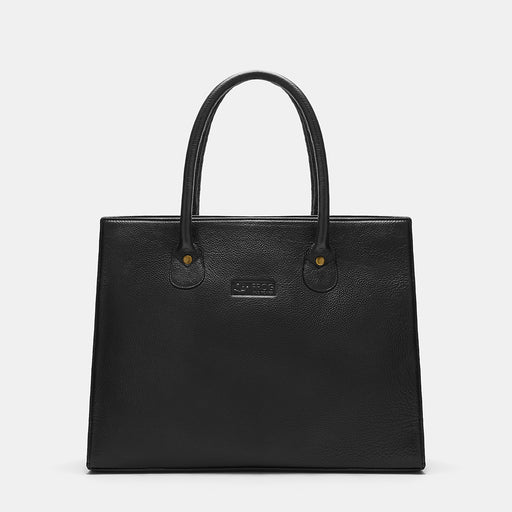 Victoria Tower Genuine Leather Handbag