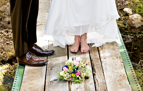 Rochelle Mort Photography - Bare Foot Bride