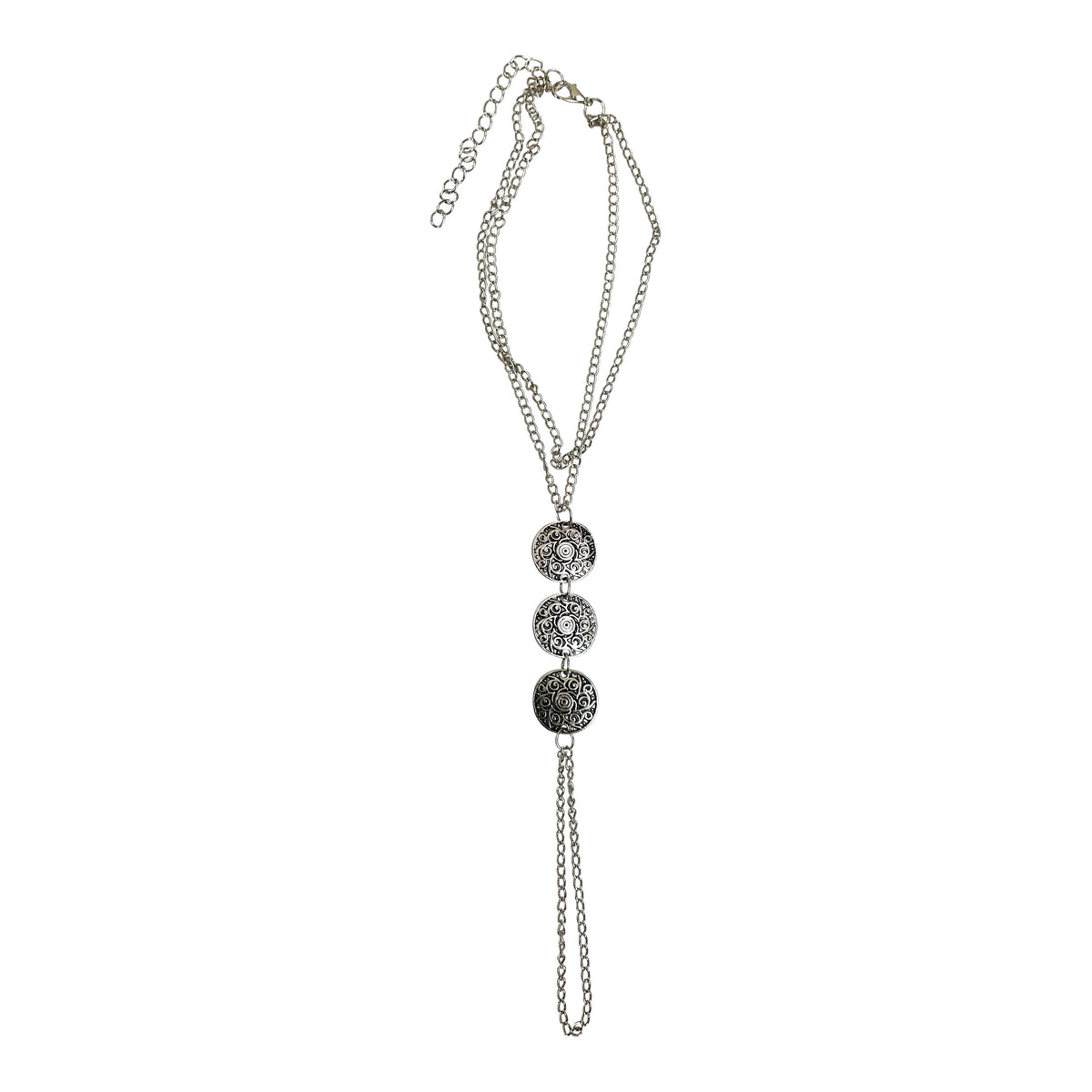 Silver Tone Wind Foot Chain