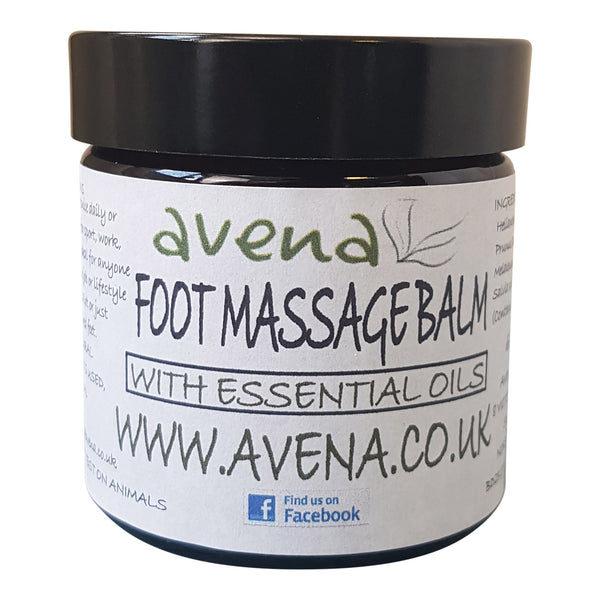 Avena Essential Oils Soothing Foot Massage Balm 60ml