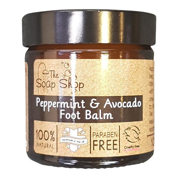The Soap Shop's Peppermint & Avocado Foot Balm