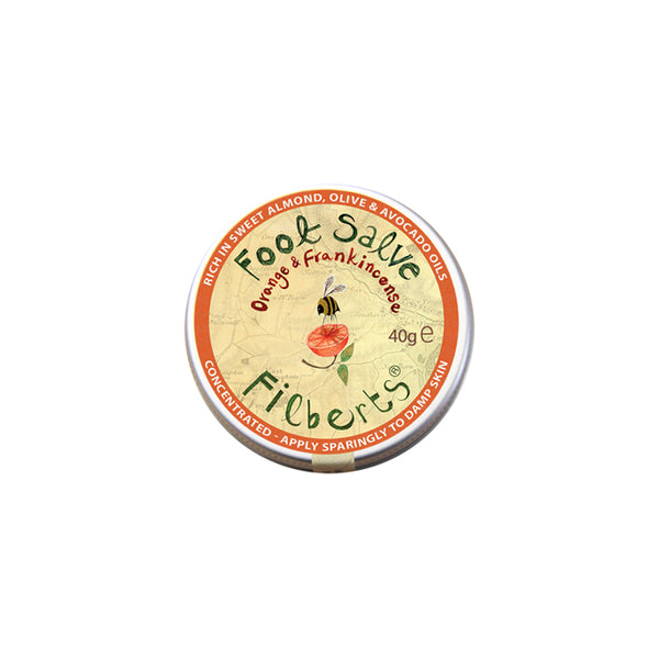 Filberts Orange & Frankincense Concentrated Foot Salve