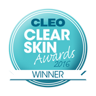 Winner of Cleo Clear Skin Awards 2016