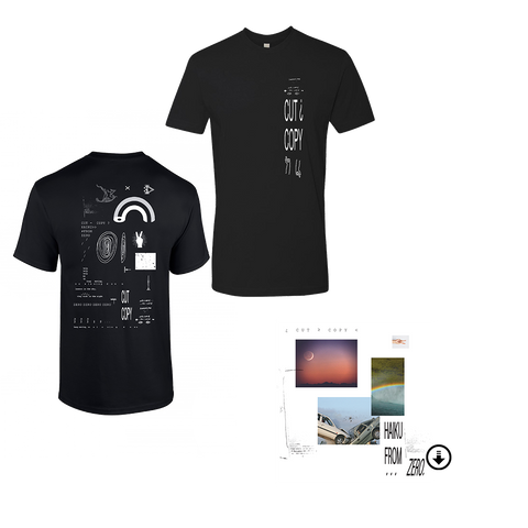 Haiku From Zero Digital Album + Black T-Shirt