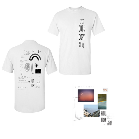 Haiku From Zero Album + White T-Shirt