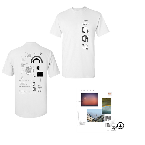 Haiku From Zero Digital Album + White T-Shirt