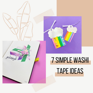 7 Simple Crafty Things to Try with Washi Tapes